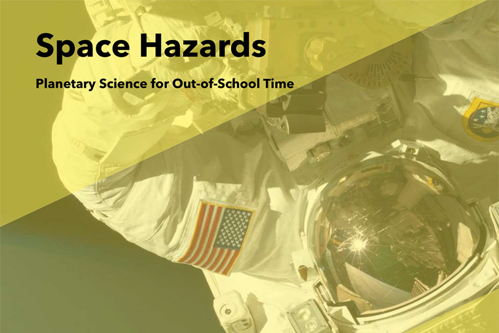 Space Hazards Science Educator Guide cover shot