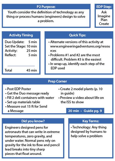 Back Pocket Activity Essentials - Engineering - Back P2