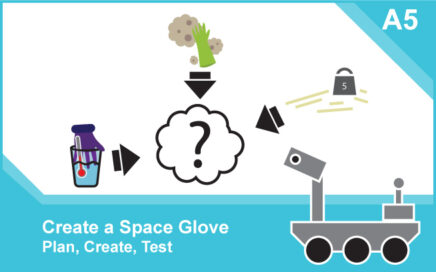 Space Hazards: Activity – Engineering A5 card front - featured image