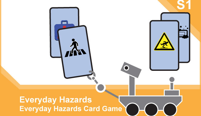 Space Hazards: Activity – Science S1 card front