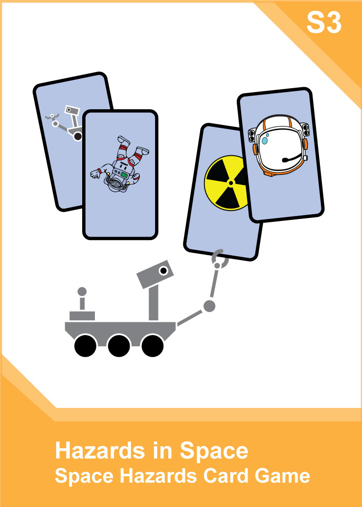 Back Pocket Activity Essentials - Space Hazards - Science S3 Front