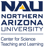 NAU Center for Science Teaching and Learning logo - square